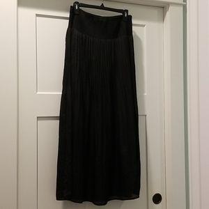 White House Black Market Size M Black Skirt